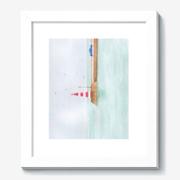 Картина «Маяк в тихой гавани»