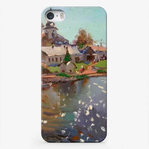 Чехол iPhone «Монастырь»