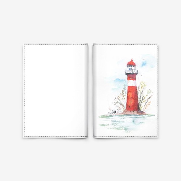 Обложка для паспорта «Маяк весенний»