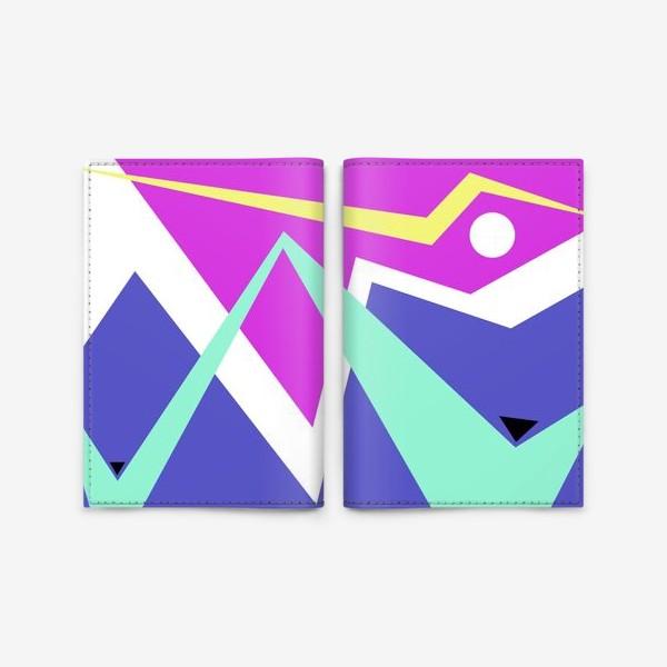 Обложка для паспорта «Абстракция Чайки над морем»