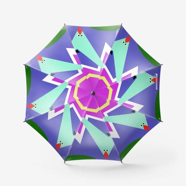 Зонт «Абстракция Чайки над морем»
