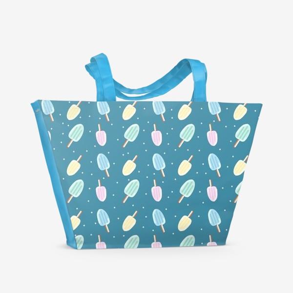 Пляжная сумка «Мороженки»