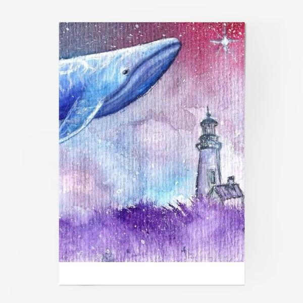 Постер «небесный кит»