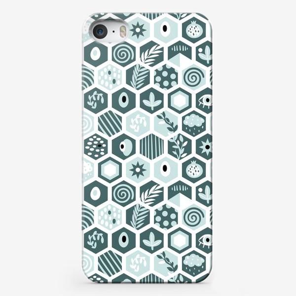 Чехол iPhone «Abstract Minty»