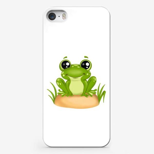 Чехол iPhone «Лягушонок»