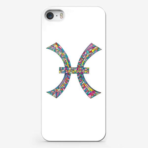 Чехол iPhone «Знак зодиака РЫБЫ»