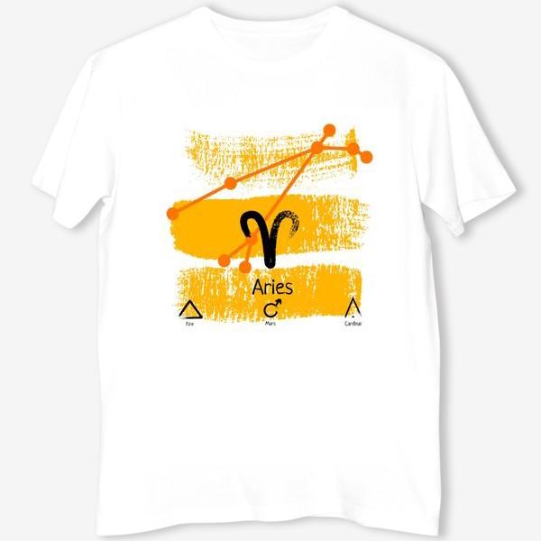 Футболка «Знак зодиака овен»