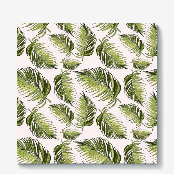 Холст «листья пальмы»