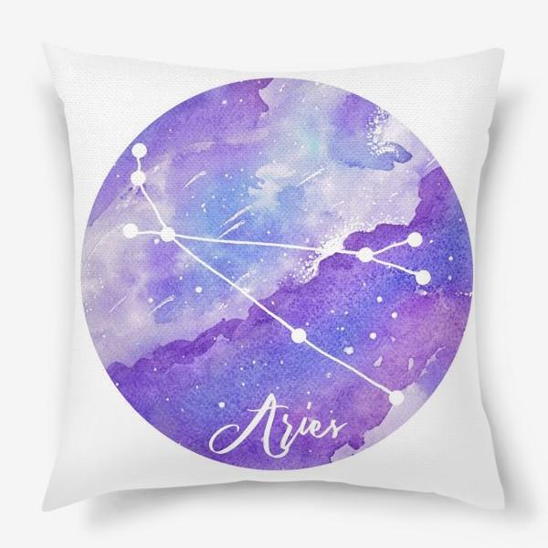 Подушка «Зодиак овен»