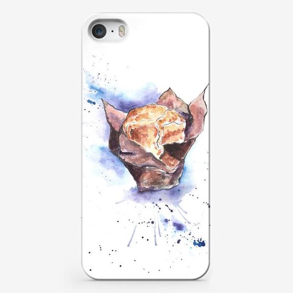 Чехол iPhone «Черничный Маффин»