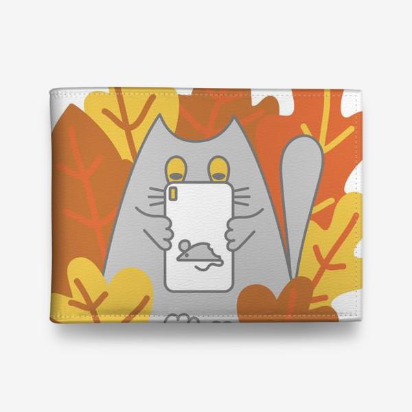 Кошелек «Кот блоггер»
