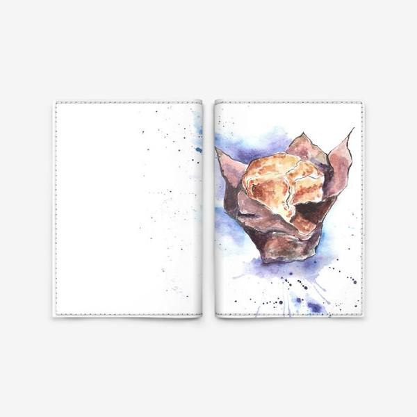 Обложка для паспорта «Черничный Маффин»