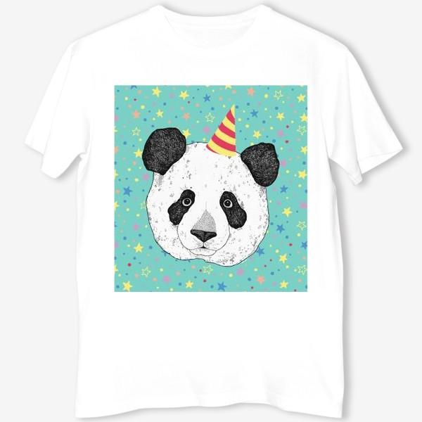 Футболка «Праздничная панда»