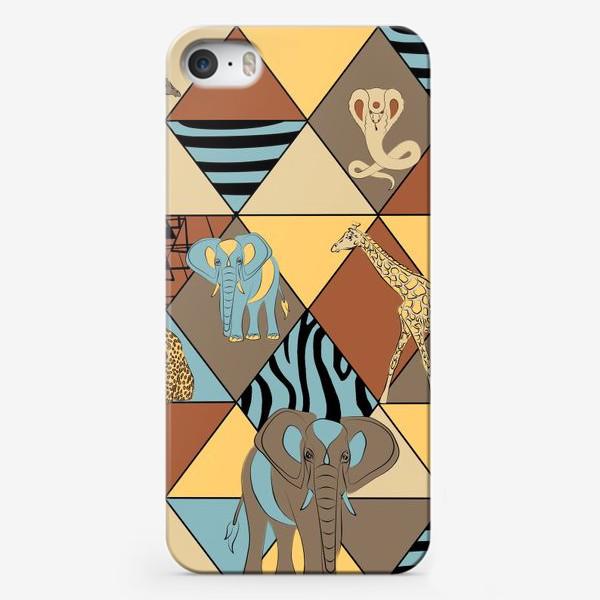 Чехол iPhone «Сафари паттерн»