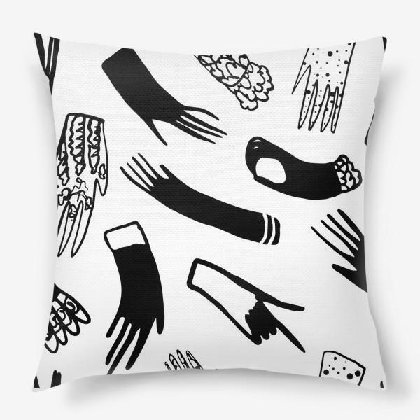 Подушка «Перчатки»