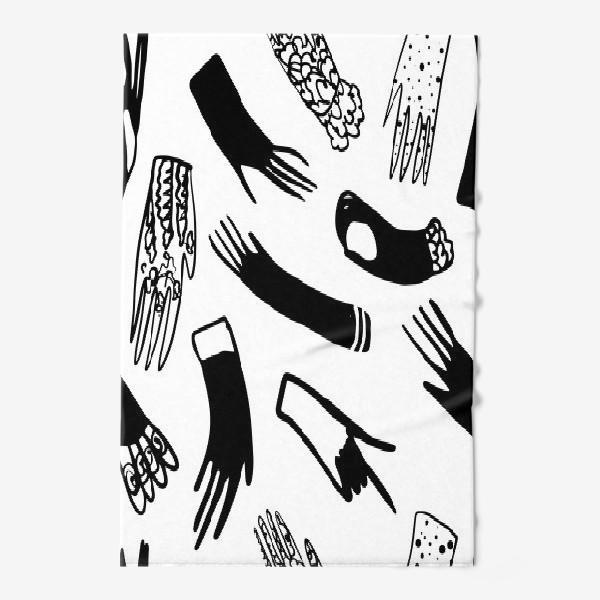 Полотенце «Перчатки»