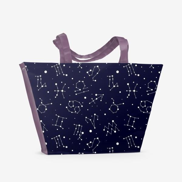 Пляжная сумка «Знаки зодиаков»
