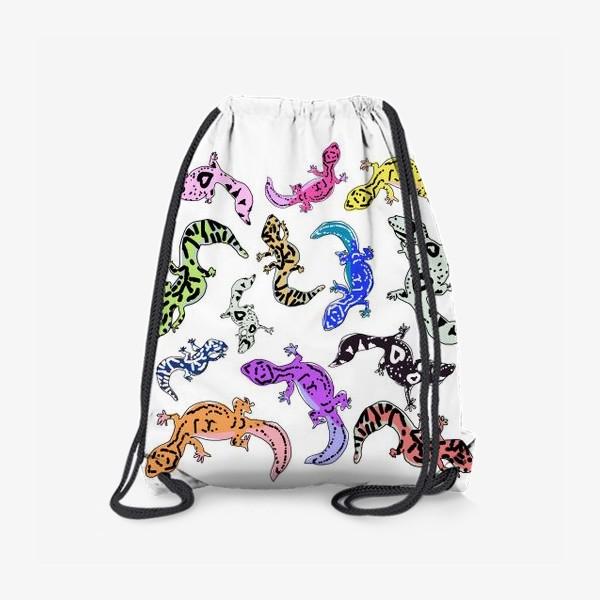 Рюкзак «Ящерки»
