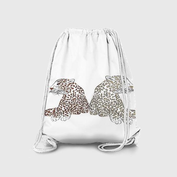 Рюкзак «Два гепарда»