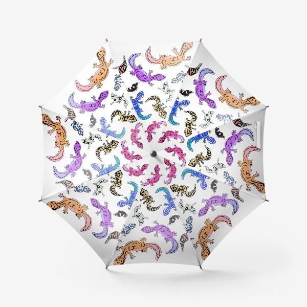 Зонт «Ящерки»