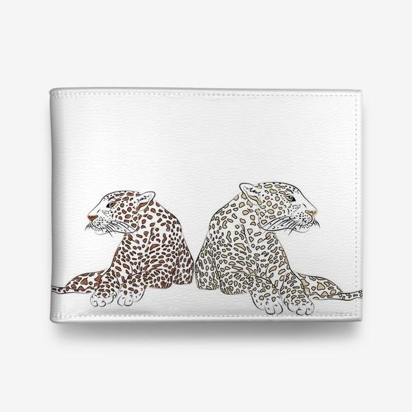 Кошелек «Два гепарда»