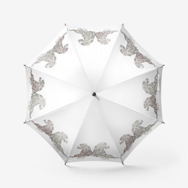 Зонт «Два гепарда»