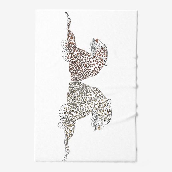 Полотенце «Два гепарда»