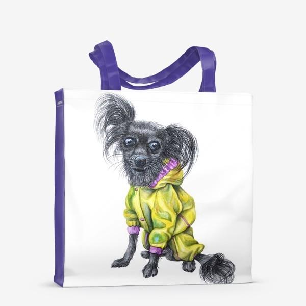 Сумка-шоппер «Чихуахуа в одежде»