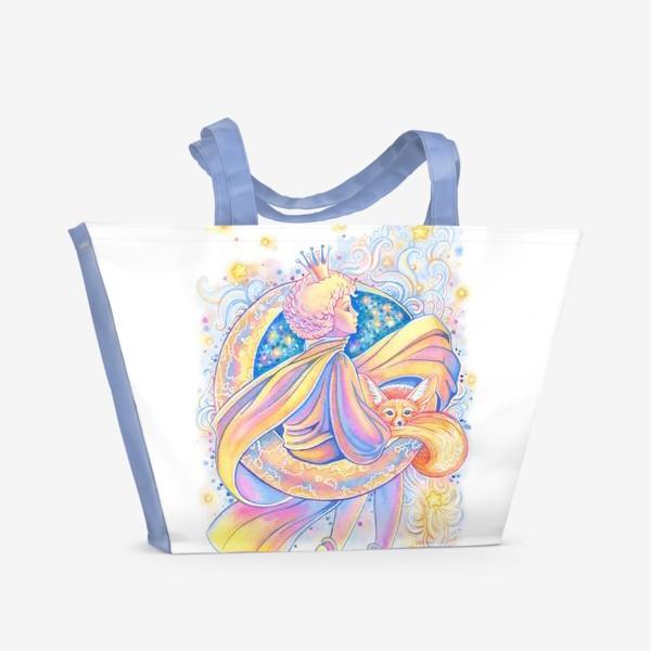 Пляжная сумка «Маленький принц.»