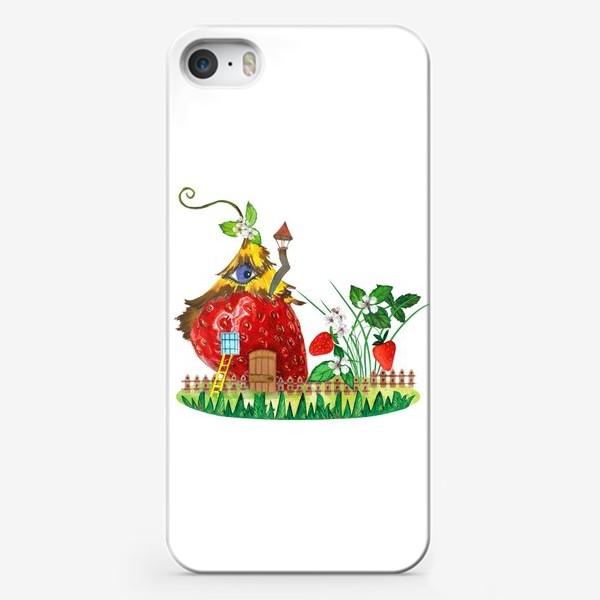 Чехол iPhone «земляничный домик»