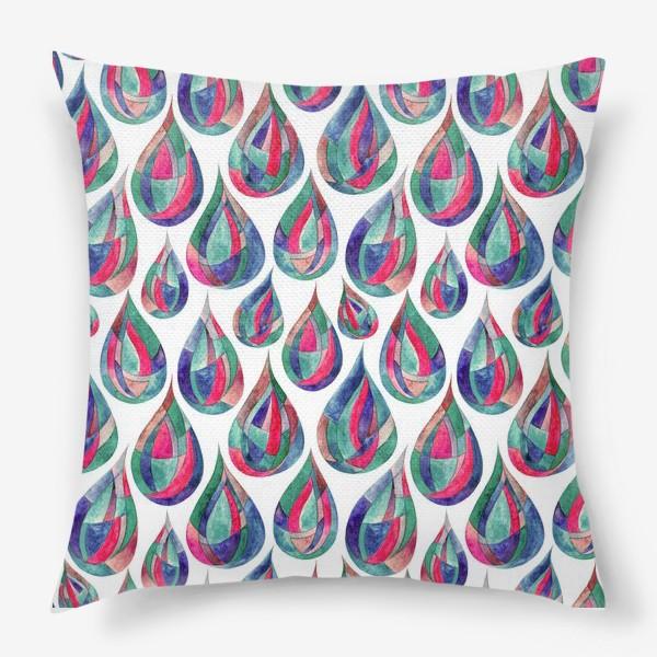 Подушка «Капли»