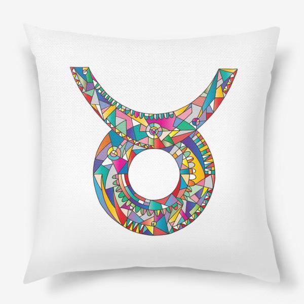 Подушка «Знак зодиака ТЕЛЕЦ»