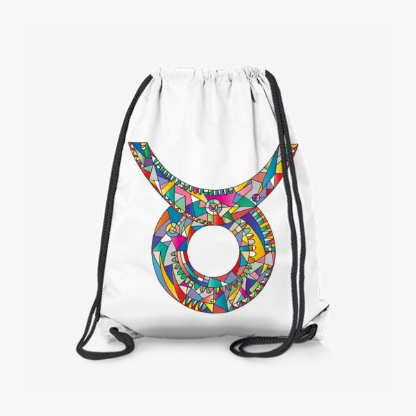 Рюкзак «Знак зодиака ТЕЛЕЦ»
