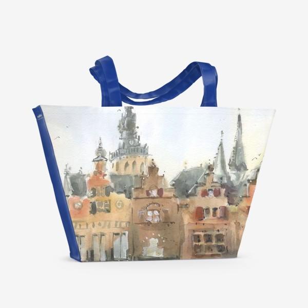 Пляжная сумка «Город»