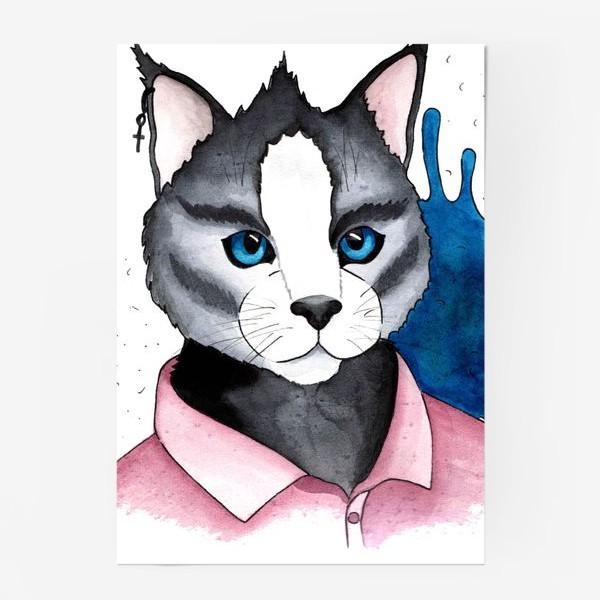 Постер «Кот на стиле»
