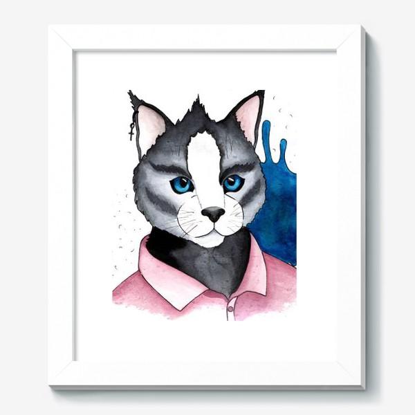 Картина «Кот на стиле»