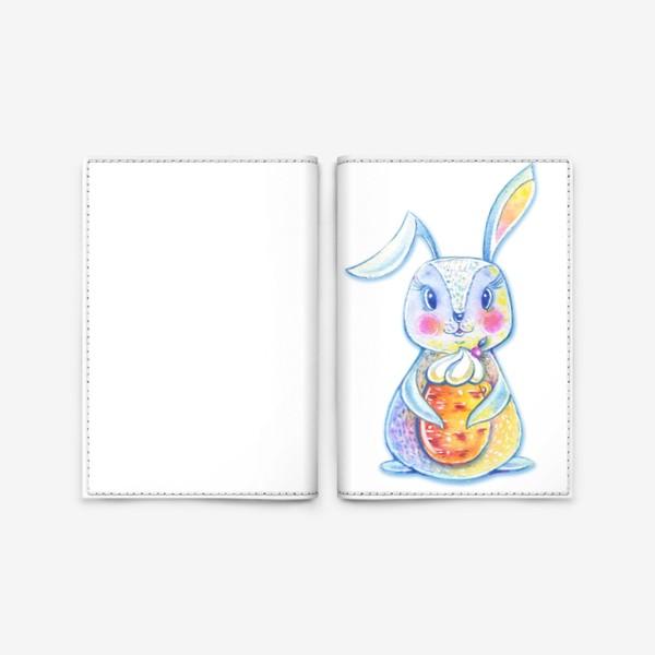 Обложка для паспорта «Зайчик»