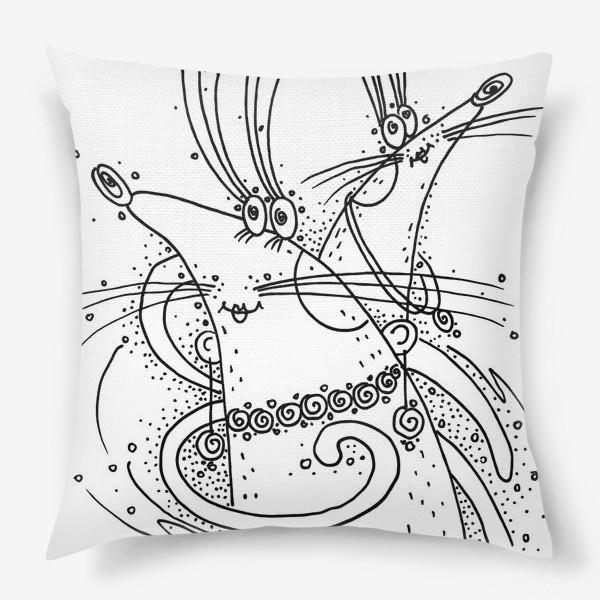 Подушка «Мышки подружки»