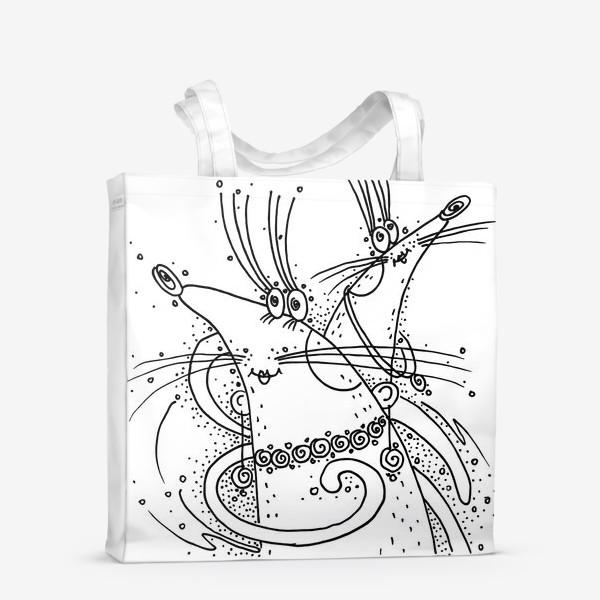 Сумка-шоппер «Мышки подружки»