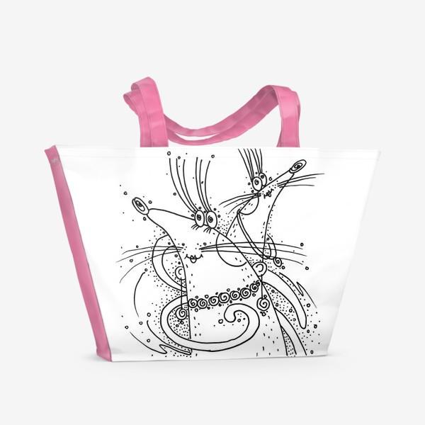 Пляжная сумка «Мышки подружки»