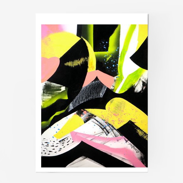 Постер «Виниловая пластинка»