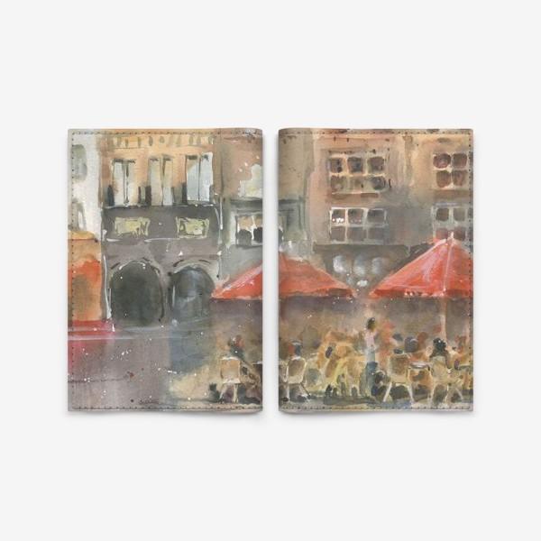 Обложка для паспорта «Город»