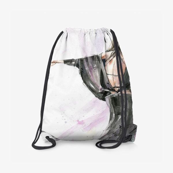Рюкзак «Девушка с собачкой»