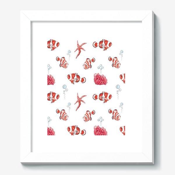 Картина «Рыба клоун»