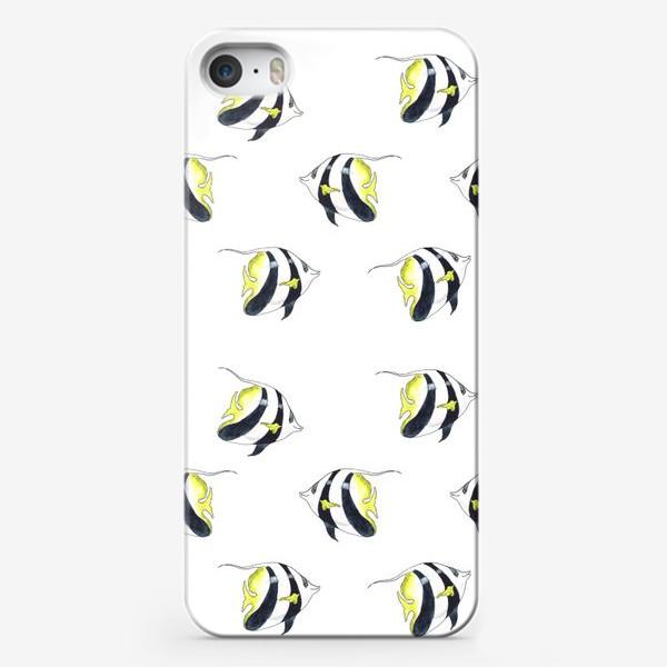 Чехол iPhone «Тропические рыбки»