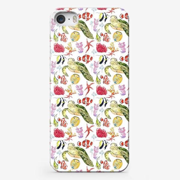 Чехол iPhone «Подводный мир»