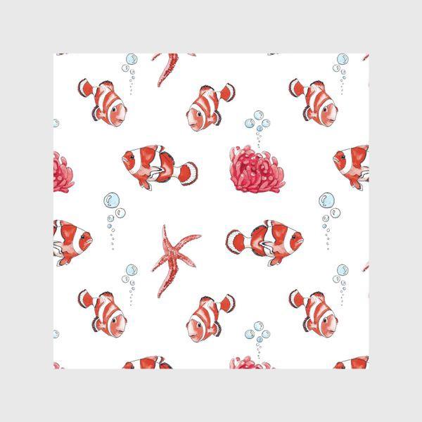 Шторы «Рыба клоун»