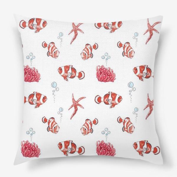 Подушка «Рыба клоун»