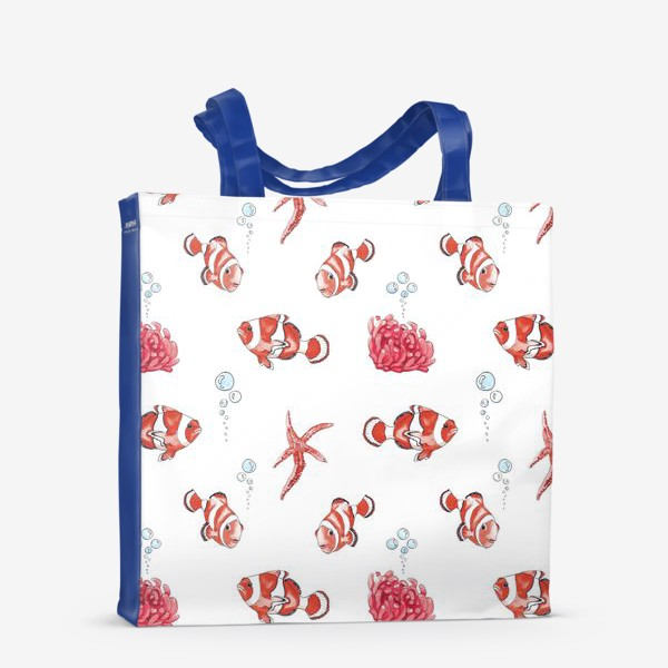 Сумка-шоппер «Рыба клоун»