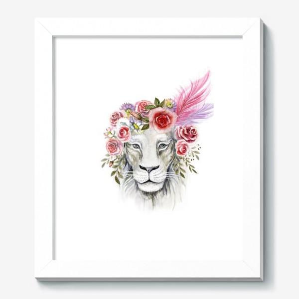 Картина «Белая львица»